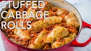 Dinner: Best Stuffed Cabbage Rolls (Golubtsi) - Natasha's Kitchen