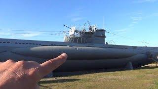 Inside A German WW2 Submarine   Touring  U995 U Boot