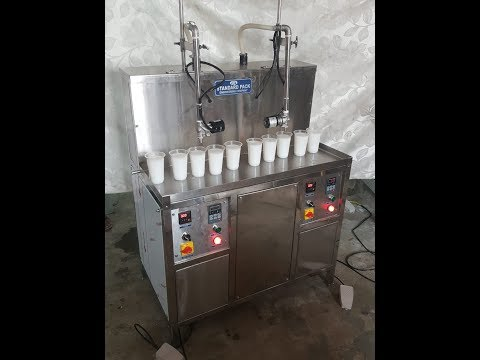 Semi Automatic Oil Shampoo Filling Machine