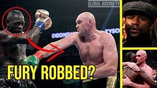 Boxing Community React To Wilder Vs Fury Split Decision Draw, Fury Robbed?