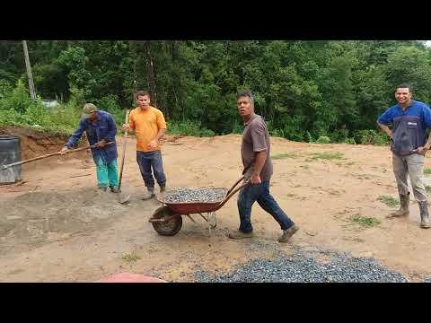 Construindo a casa do irmao samuel  sitio bragança barra do chapeu sp