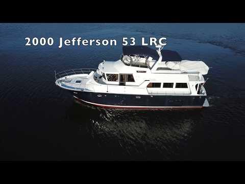 Jefferson 53 LRC Pilothouse video