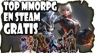 Lista Top 10 Mejores MMOrpg Gratis en Steam   Mejores MMO Free To Play de Steam   Varolete