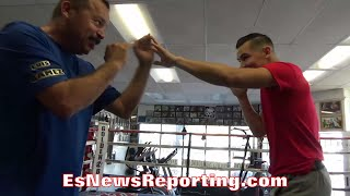 GENARO GAMEZ SQUARES UP ON DAD; SHARES CANDID MOMENT WITH FATHER - EsNews Boxing