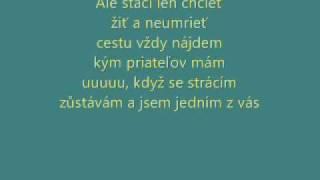 Československá superstar 2011 Nevzdavám lyrics