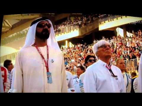U.A.E. Fly Past & National Anthem ~ 2015 Etihad Abu Dhabi F1 GP