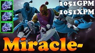Dota 2 - Miracle- 8000 MMR TOP 1 MMR EU Plays Anti-Mage vol 5 - Ranked Match Gameplay