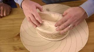 How to Crease a Straw Hat | Resistol 101