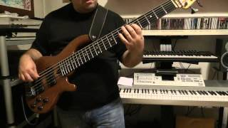 Bass Cover - Dream Theater - Status Seeker - with Wal bass Mk3