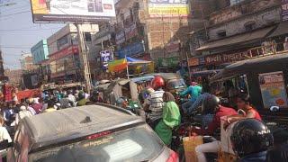 Muzaffarpur; जाम से घंटो कराहता रहा Smart City, मिनटों के सफर को तय करने में लगे घंटों