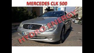 Mercedes CLK 500 hidrojen yakıt sistem montajı