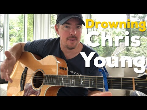 Drowning | Chris Young | Beginner Guitar Lesson