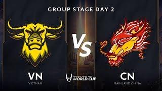 Việt Nam vs Trung Quốc - Bảng B - Vòng bảng giải đấu AWC 2019- Garena Liên Quân Mobile
