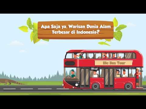 Apa Saja ya, Warisan Alam Dunia yang Terbesar di Indonesia?