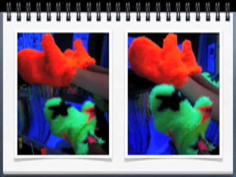 Screenshot of video: Cheap sensory ideas by Richard Hirstwood Part 1