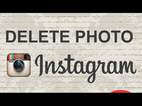 How to delete photos on Instagram