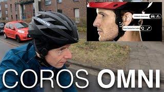 Coros Omni & Linx: Smarter Helm mit Bone Conduction Köpfhörer (deutsch)