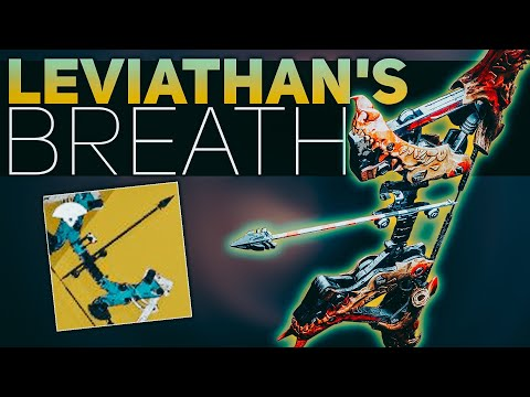 Leviathan's Breath Exotic Review (Our FIRST Heavy Bow) | Destiny 2 Shadowkeep Exotic