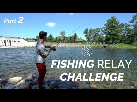 Fishing LARGE SPILLWAY (Relay Challenge part 2)