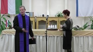 A harmadik adventi gyertya gyújtása – Tiszalök, 2019.12.15.