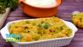 Whole Wheat And Vegetable Khichdi (Diabetic-friendly  And Low Cholesterol Recipe)  By Tarla Dalal