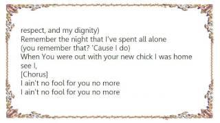 Cherish - Fool 4 You Lyrics