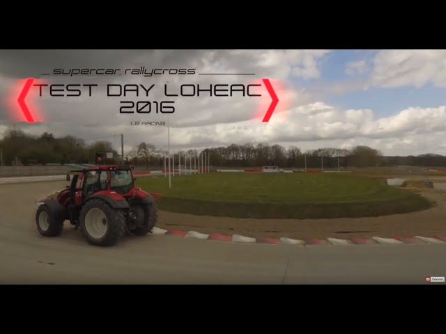 LB Racing test day lohéac 2016