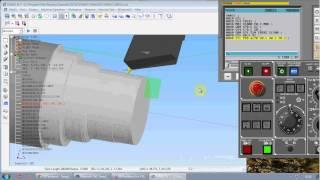 Video Lập trình mô phỏng CNC trên máy Tiện