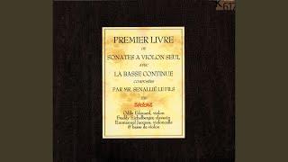 Premier livre de sonates à violon, Sonata No. 7 in B-Flat Major: I. Adagio