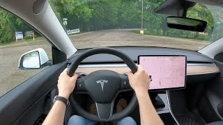 [Winding Road Magazine] 2021 Tesla Model Y Standard Range - POV Test Drive (Binaural Audio)