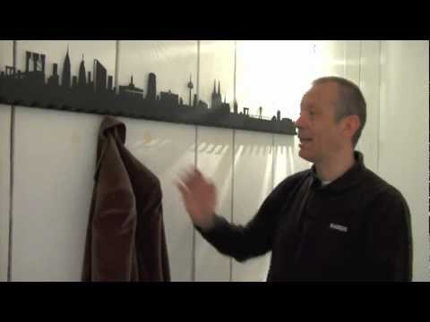 Wandgarderobe: CITY COAT RACK - Radius Design