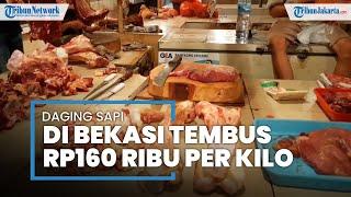 Jelang Lebaran Idulfitri, Harga Daging Sapi di Bekasi Tembus sampai Rp160.000 per Kilogram