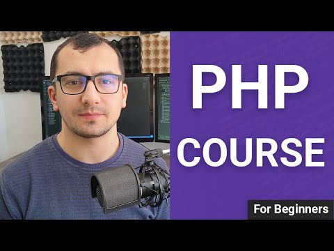 PHP Tutorial for Absolute Beginners - PHP Course 2021