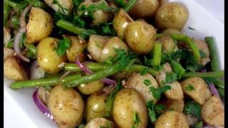 "Potato & Green Bean Salad Recipe Video - Laura Vitale ""Laura In The Kitchen"" Episode 36"