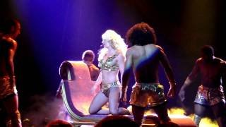 He About to Lose Me HD Performance - Britney Spears Femme Fatale Tour Phoenix