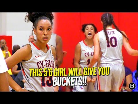 She's 5'6 & Will Give Your Whole Squad Buckets!! Jaden Owens Ballislife Highlights!