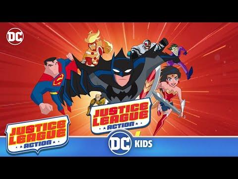 Runda Justice League Action wideo