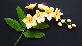 How To Make Pretty Fabric Flowers!   Pleasant Flower Making Tutorials   ORIGAMI DIY CRAFT