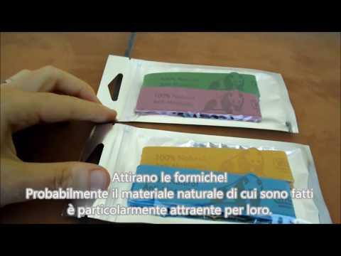 Bracciali repellenti repellente braccialetto anti-zanzare Vitchelo