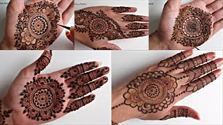 Top 5 Mandala Henna Designs In 5 Minutes | Simple Easy Mehendi Designs 2019