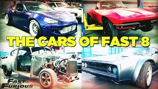 An exclusive BTS look at the supercars featured in F8 with the Mighty Car Mods