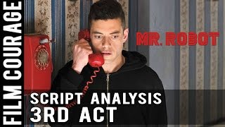 MR ROBOT Script Analysis  Pilot Episode  3rd Act C Story Irresistible Question
