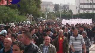 preview picture of video 'Barbacha-Marche anti wali des Barbachois à Vgayet le:09/04/13'