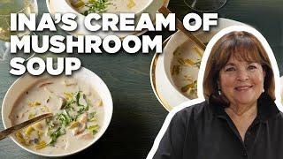 Cook Cream Of Wild Mushroom Soup With Ina Garten   Food Network