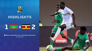 CAN U20 2021 | Groupe A : Mauritanie 1-2 Ouganda