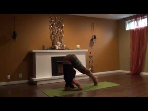 How to get into Unsupported and Supported Headstand with Becca, Part 1/2