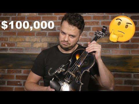 $100k Titanium Violin Review: Is It Worth It?