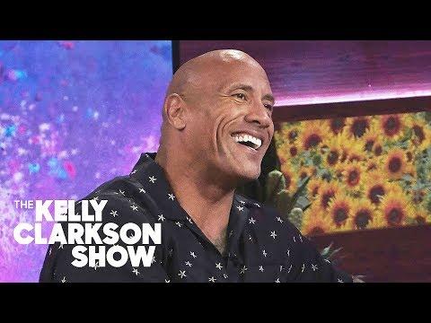 Dwayne Johnson Reveals Super Private Wedding Details | The Kelly Clarkson Show (видео)