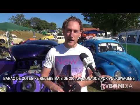 Barão de Cotegipe recebe mais de 200 apaixonados por Volkswagens