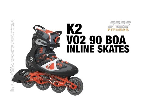 2015 K2 VO2 90 BOA Inline Skates for Men Review